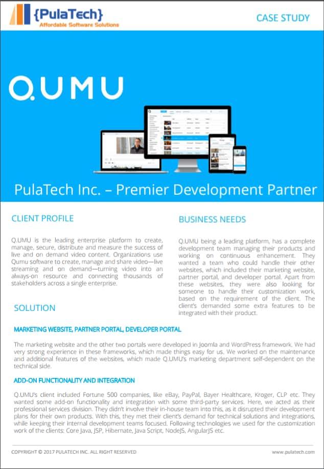 qumu case study icon